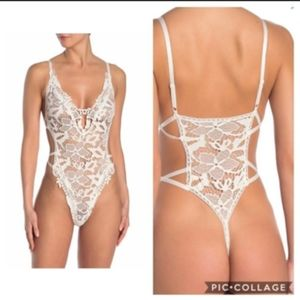 Brand new with tags Lace teddy